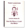 Terry lunceford Lecture 3 by Terry Lunceford - Book