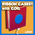 Ribbon Casket with Coil