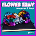 Flower Tray, 4 Time