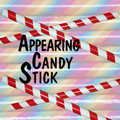 Appearing Candy Cane 8' - Red & White