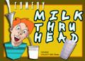 Comedy Milk Thru Head w/ Galaxy Glass
