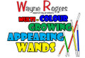 Multi-Color Growing & Appearing Wands - Color