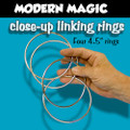 Linking Rings, Close-Up Modern, 4.5 Inch  - 4 Set