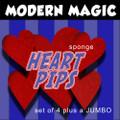 Sponge Heart Pips 4 Set, w/ Jumbo - Modern