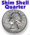 Shim Shell Coin, Quarter - Sterling