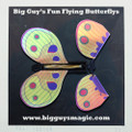 Big Guy's Fun Flying Butterflys - Dots Full