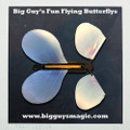 Big Guy's Fun Flying Butterflys - Sky Blue