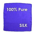"""Silk - 6"""" Blue, DiFatta - Dozen"""