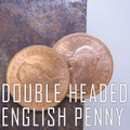 Double Sided Coin - English Penny - Head