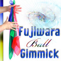Fujiwara Ball Gimmick (w/DVD, Bigger Size, up to three 18 inch silks) by Fujiwara - Trick