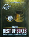 Nest of Coin Boxes - Brass TM