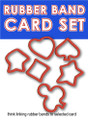 RubberBand Card Set of Pips, w/ Bonus Star Band