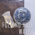 Folding Half Dollar - Wavy