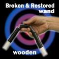 Broken & Restored Wand, Wood - Jumbo