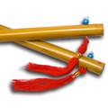 """Chinese Sticks, Wood Finish - 14"""""""