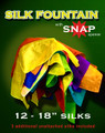 Silk Fountain w/ Snap Silks Opener 18""