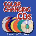 Manipulation CDs Set, 14 CD- 7 Colors