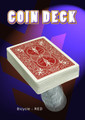 Coin Deck, Bicycle- Red