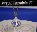 Crystal Pendulum, Mentalist -  w/ Cards