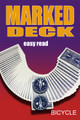 Marked Deck, Bicycle Blue -  Easy Read