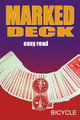 Marked Deck, Bicycle Red -  Easy Read