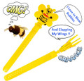 "11.75"" CLAPPING BUBBLE BEE BATON"