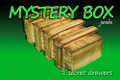 Mystery Box w/ 2 Secret Drawer, Jumbo