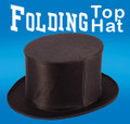 Folding Top Hat- Silk