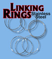 Linking Rings 10 inch, 8 Set - SS