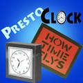 Presto Clock, Stainless Steel - Grant