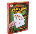 "Economy EXTRA LARGE POKER CARD DECK  5"" x 7"""