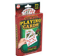 "Economy LARGE POKER CARD DECK  3"" x 5"""