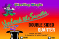 Double Side Quarter, Tails - Sterling