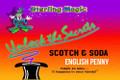 Scotch & Soda Locking, English Penny - Sterling