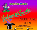Steel Core Quarter - Sterling