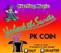 PK Half Dollar - Sterling