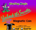 Magnetic Half Dollar - Sterling