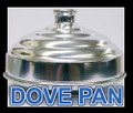 Dove Pan w/ Pedestal, Alum - Single