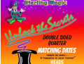 Double Side Quarter Dates Match, Heads - Sterling