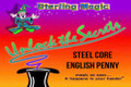 Steel Core English Penny - Sterling