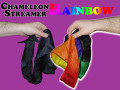Chameleon Rainbow Silk Streamer