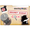 Secret Agent Coin, Quarter - Sterling