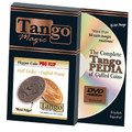 Flipper Coin Pro Flip Half Dollar/English Penny (w/DVD)by Tango - Trick (D0100)