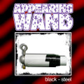 Appearing Wand, Steel - Black