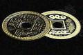 Flipper Coin, Chinese - Half Dollar Size