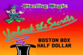 Boston Box, Half Dollar - Sterling