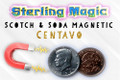Scotch & Soda, Centavo Magnetic - Sterling