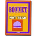 Hat Paper Tear, (12) - BONNET