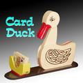 Card Duck - Wood
