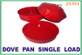 Dove Pan, Single - Red